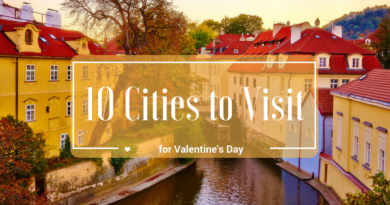 Cities to visit on Valentine's