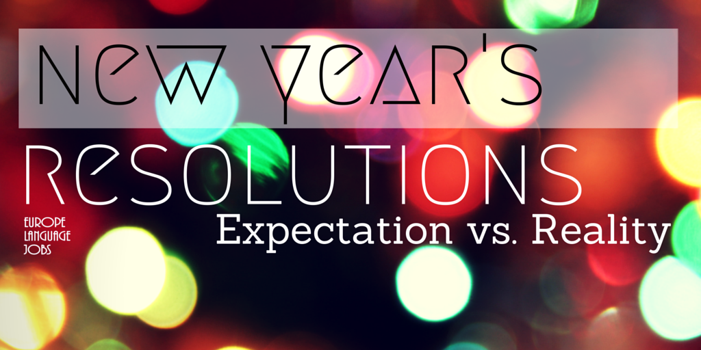 New Year's Resolutions: Expectation vs. Reality