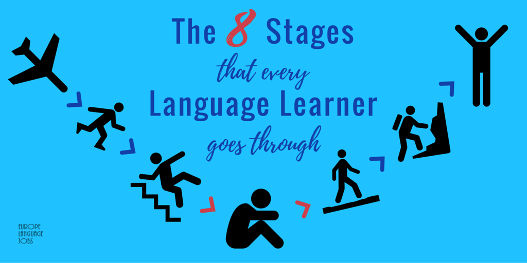 The 8 Stages That Every Language Learne