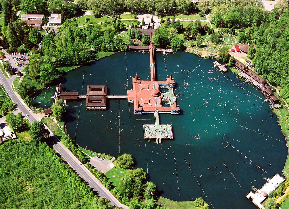 Lake Héviz is one of the hidden gems in Europe