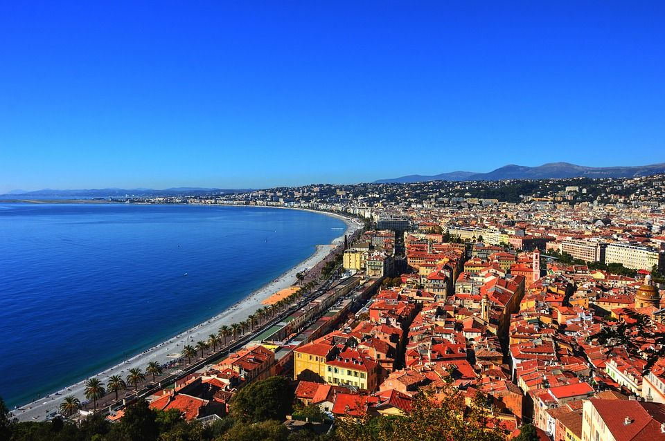 Côte d'Azur is a summer destination