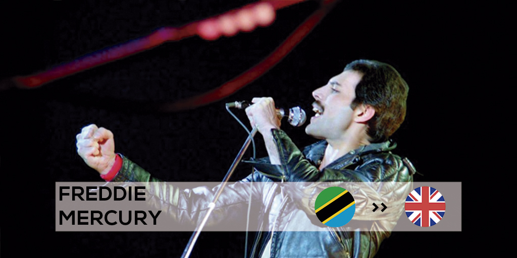 Freddie Mercury found success when he moved to London and his career exploded.