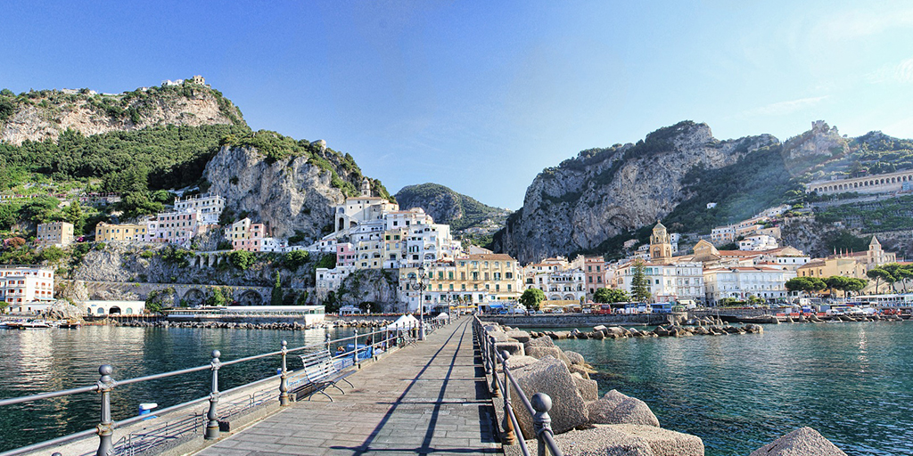 Amalfi Coast is one of the best summer destinations in Europe