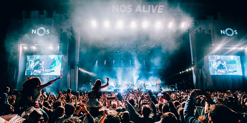 NOS Alive, one of the best summer festivals in Europe