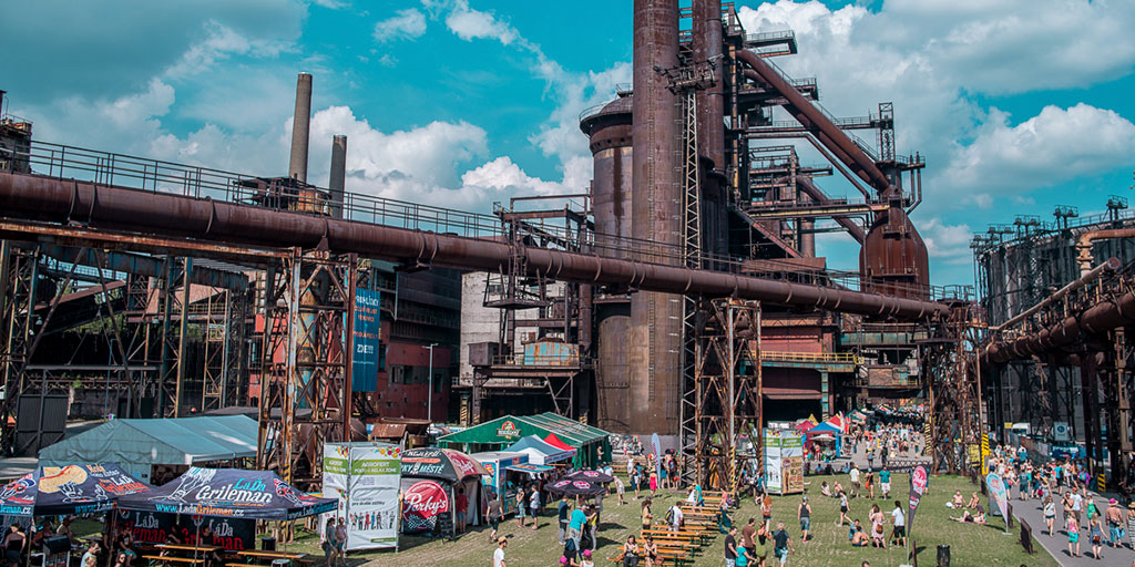 Colours of Ostrava, one of the best summer festivals in Europe