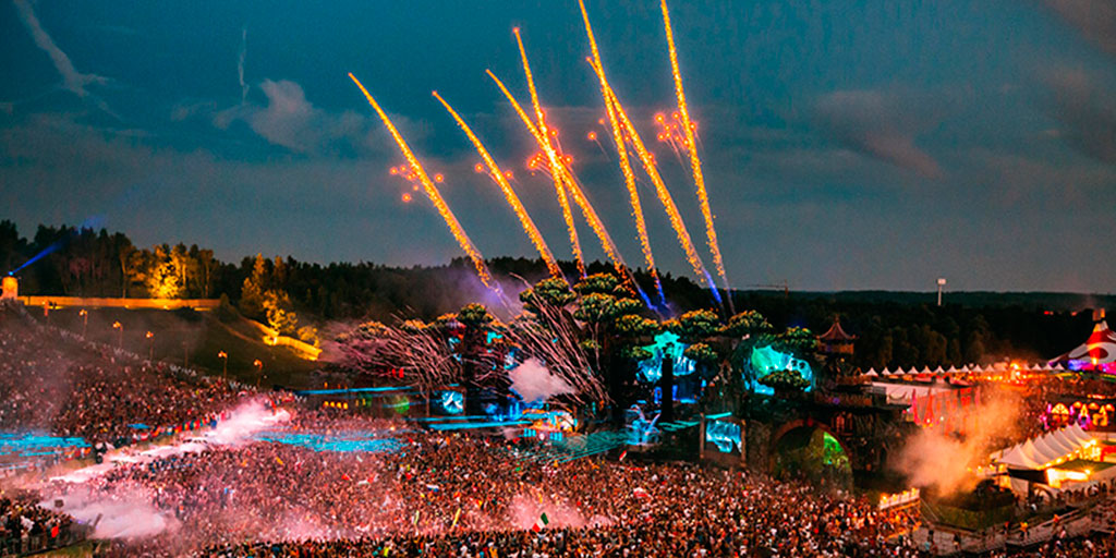 Tomorrowland, one of the best summer festivals in Europe