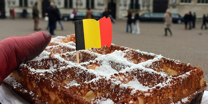 You can buy a waffle in Belgium for just one euro