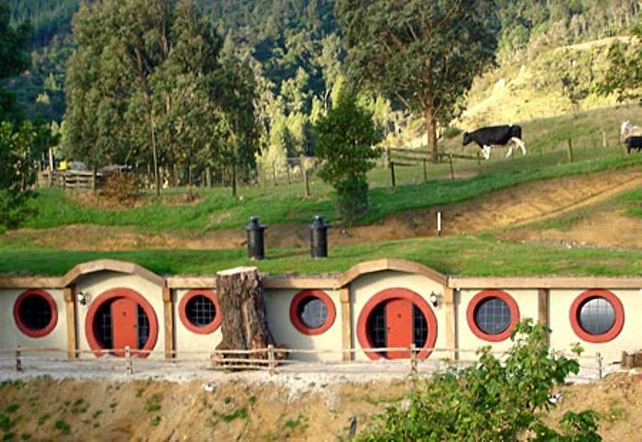 If you want to experience living as a hobbit, the Hobbit Motel in New Zealand is perfect for you.