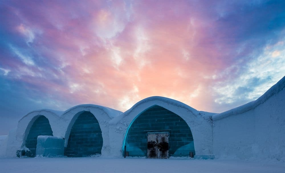 A hotel that is rebuilt by artists every winter most me amazing, The Icehotel in Sweden definitely is.