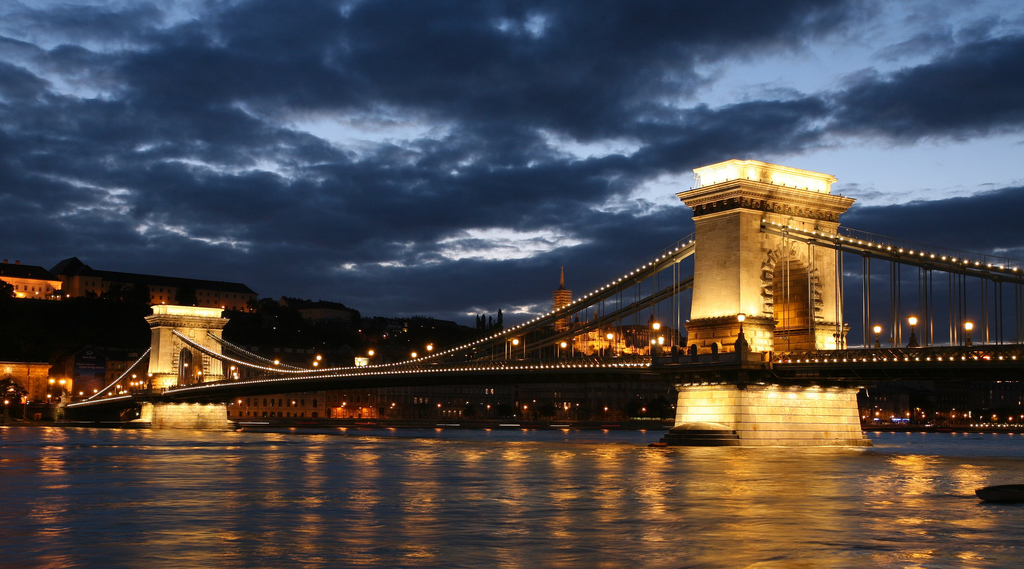 Széchenyi Chain Bridge film location in Budapest