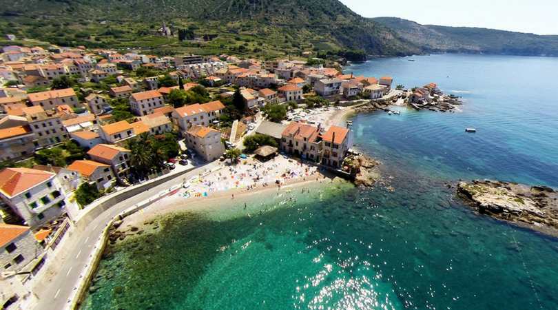 Vis most beautiful islands in Europe