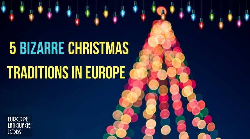 5 Bizarre Christmas traditions in Europe