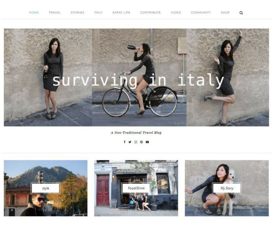 Best expat blogs Surviving in Italy