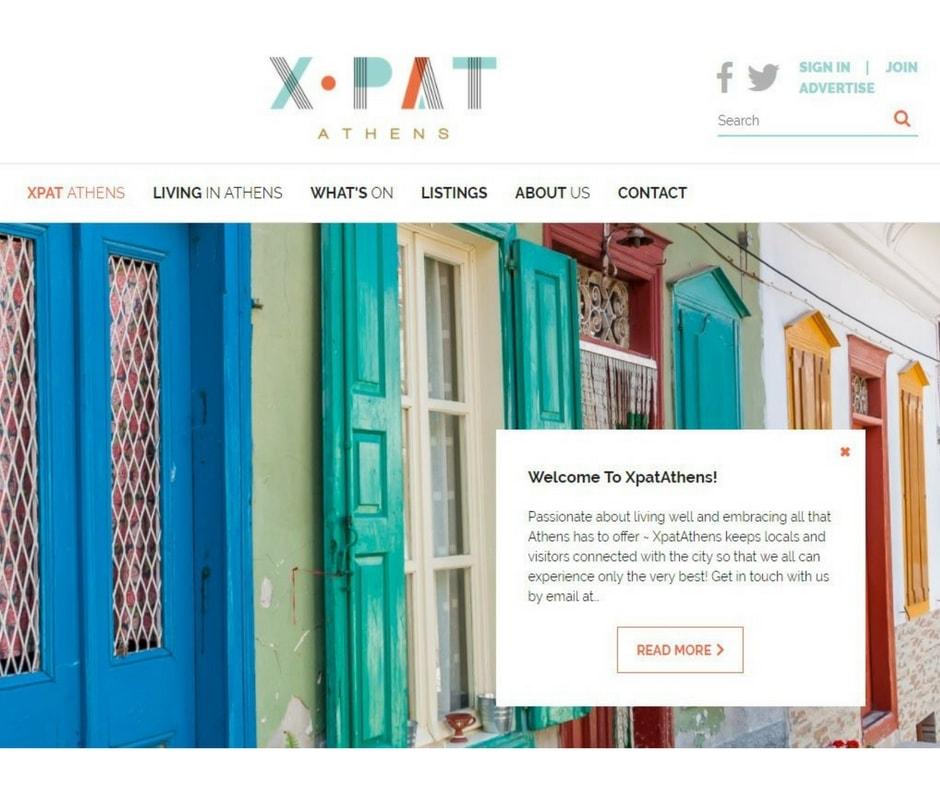 Best expat blogs XpatAthens