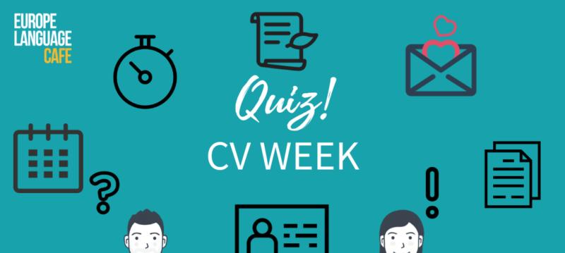 Quiz: CV Week